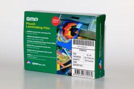 GMP tasak lamináló fólia / 65x95mm / 250 micron, fényes, 100 db