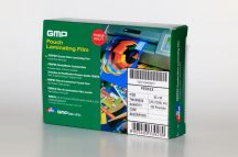 GMP tasak lamináló fólia / 75x105mm / 125 micron, fényes, 100 db