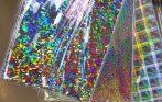 Hologram fólia CHOP A4